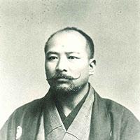 Sakujiro YOKOYAMA, 8th Dan(1804-1912)*Four Demigods