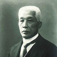 Yoshitsugu YAMASHITA, 10th Dan(1865-1935)*Four Demigods