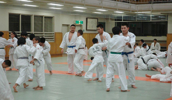 Mongolian team participating in the Boys and Girls Class