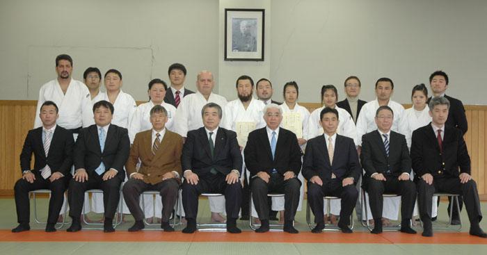 Shot with President Haruki Uemura