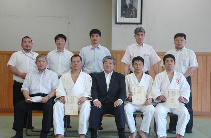 Shot with President Uemura