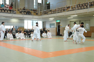 Boys and girls Randori