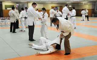 Judo trial session