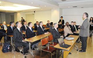 柔道の講義