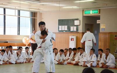 Instruction on Nage-waza